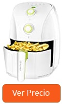 Freidora sin aceite Cecotec Cecofry Compact Rapid Black and White