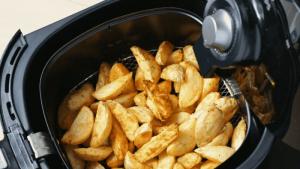 freidora sin aceite patatas fritas