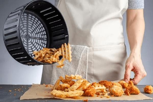 patatas fritas airfryer